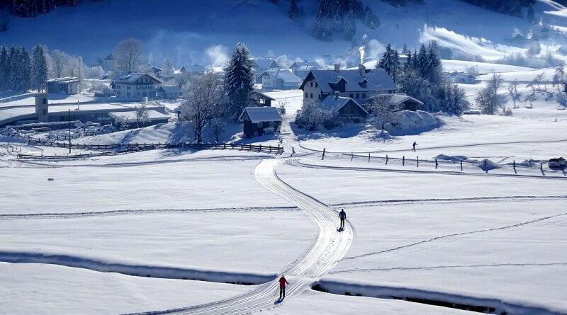 Langlaufen rund um Salzburg